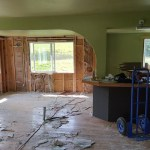 3Rs Construction Remodel - main floor demo
