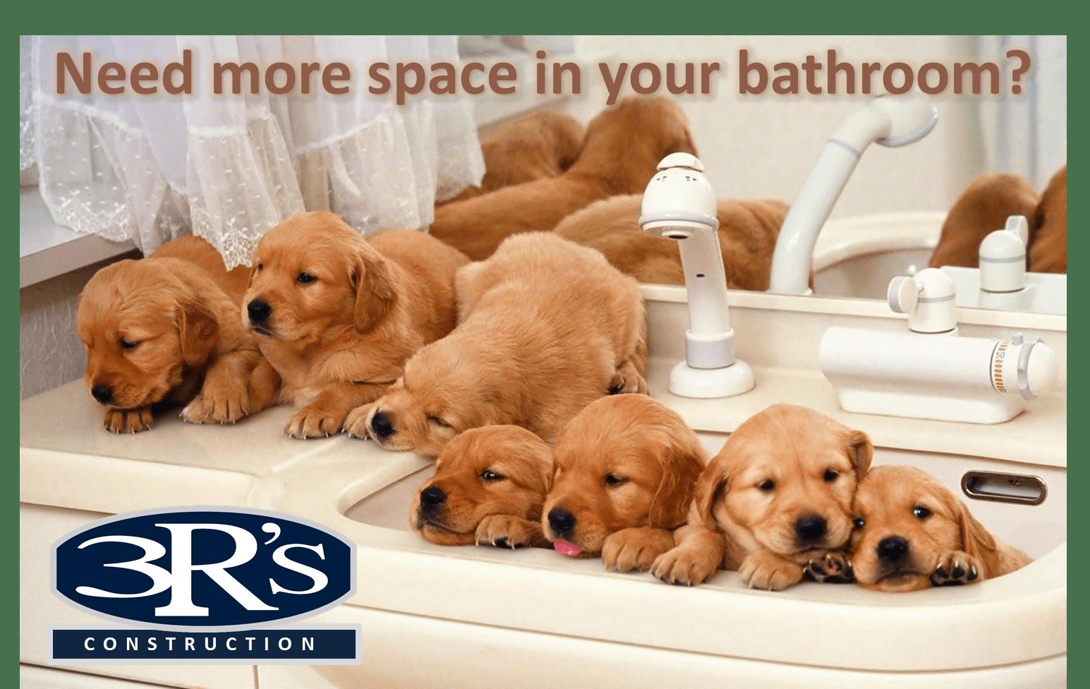 3Rs Construction Salem Oregon Bathroom Remodel