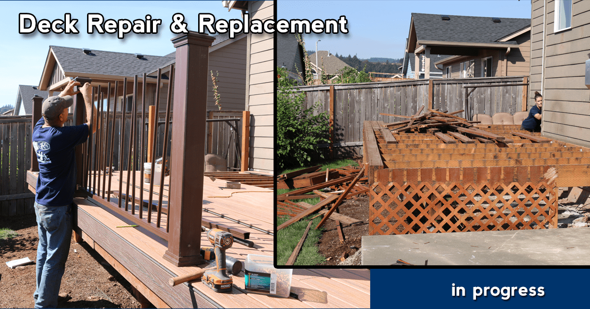 3Rs Construction Deck Repair and Replacement