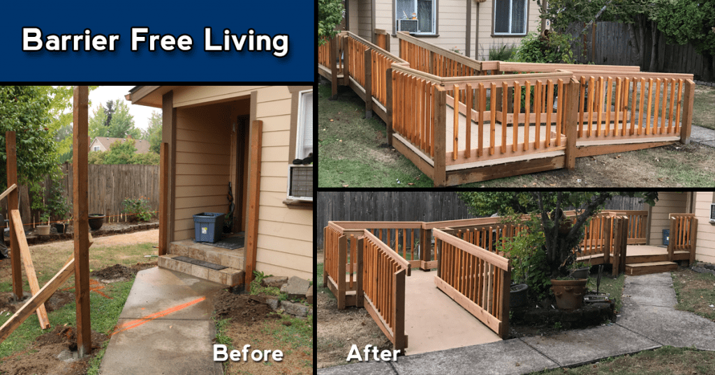 3Rs Construction Barrier Free Living Ramp