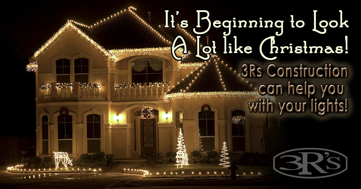 Christmas Light Installation in Salem Oregon by 3Rs Construction ...