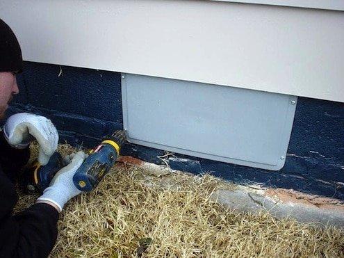 3Rs Construction Salem Oregon cover foundation vents