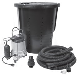 3Rs Construction Salem Oregon crawl space sump pump