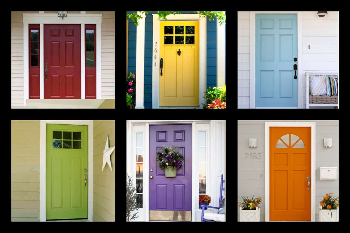 3Rs Construction Painted Exterior Door Color