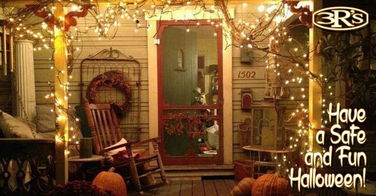 3Rs Construction Safe Halloween Front Entry