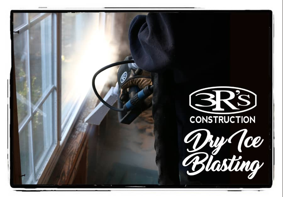 3Rs Construction Dry Ice Blasting