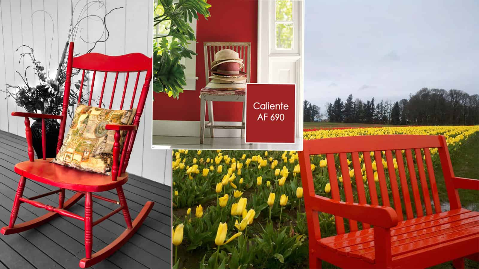 3Rs Recommends Colors of the Year for Porch Chairs