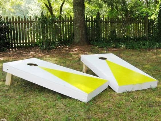 3Rs Construction DYI Outdoor Fun corn hole