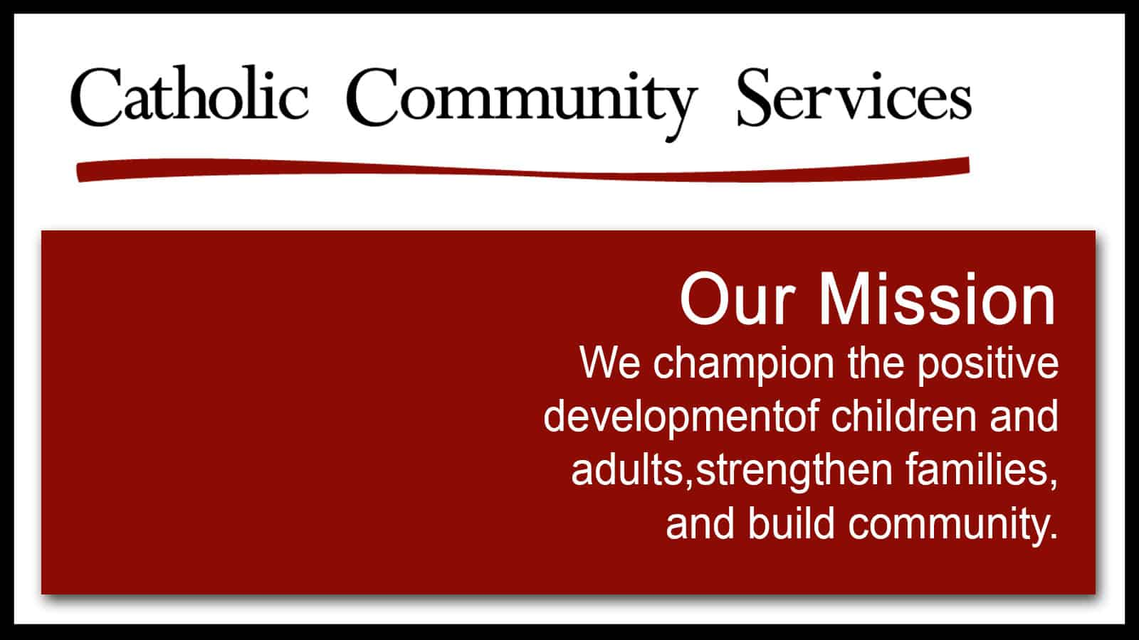 3Rs Construction supports Catholic Community Services